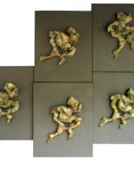 Dances (5 relief pieces)